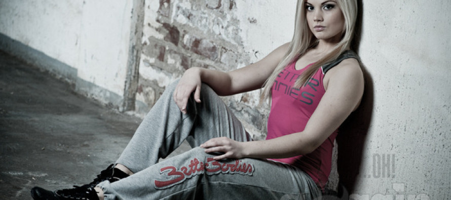 Finnish Fitness model Janni Hussi to Ohmygossip.com: I wish my career will be enough challencing