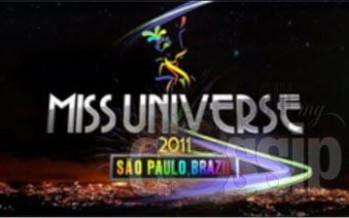 Brazil Credicard Hall: Miss Universe 2011