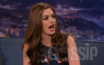 Anne Hathaway raps about 'Dark Knight Rises' paparazzi – video