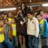 Miss Universe 2011 @ Alianca de Misericordia (Mercy Alliance) in Sao Paulo