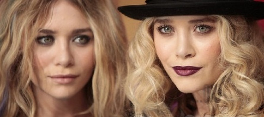 Mary-Kate and Ashley Olsen showed a collection for The Row