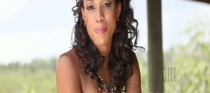 Miss Earth Bahamas 2011 Kerel Razil Pinder: I was  taught to always believe in myself