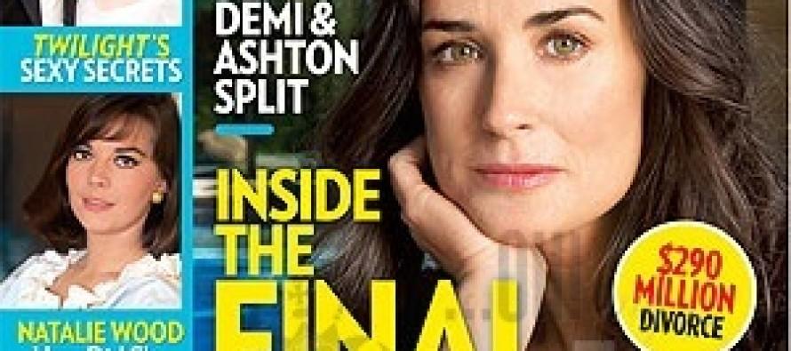 Demi Moore drove Ashton Kutcher crazy