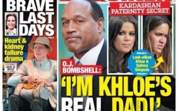 Khloe Kardashian's real father is O.J. Simpson