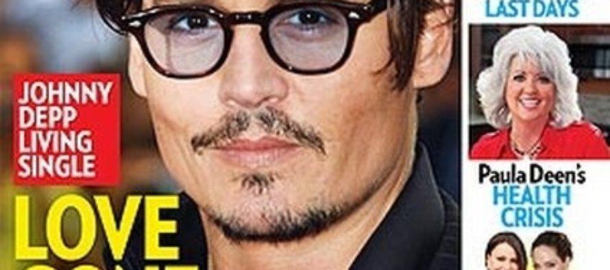 Johnny Depp & Vanessa Paradis living separate lives – Is Johnny Depp having a mid-life crisis?