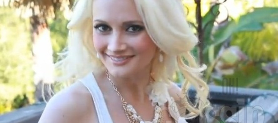 Holly Madison had her breasts insured for $1 million