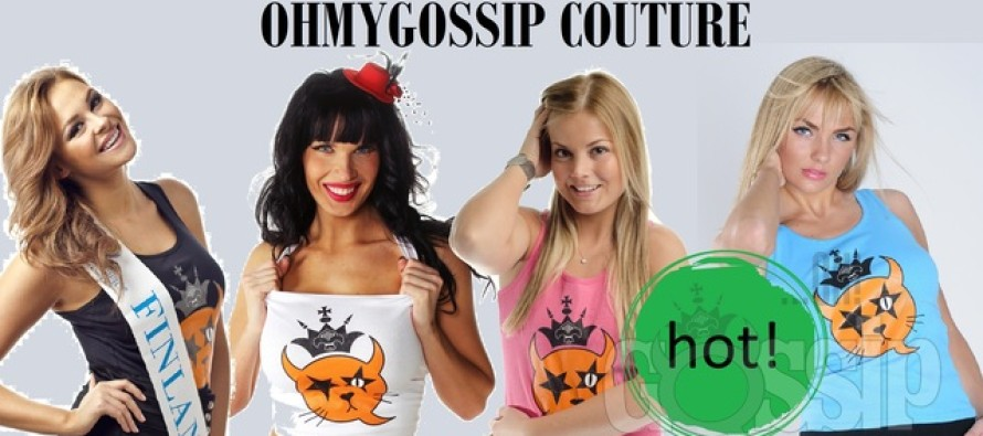 """Ohmygossip Couture"" fashion galleries embellishing the front pages of distinguished Finnish newspapers"