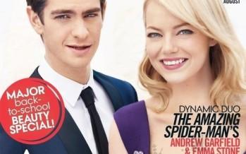 Emma Stone & Andrew Garfield on Teen Vogue magazine