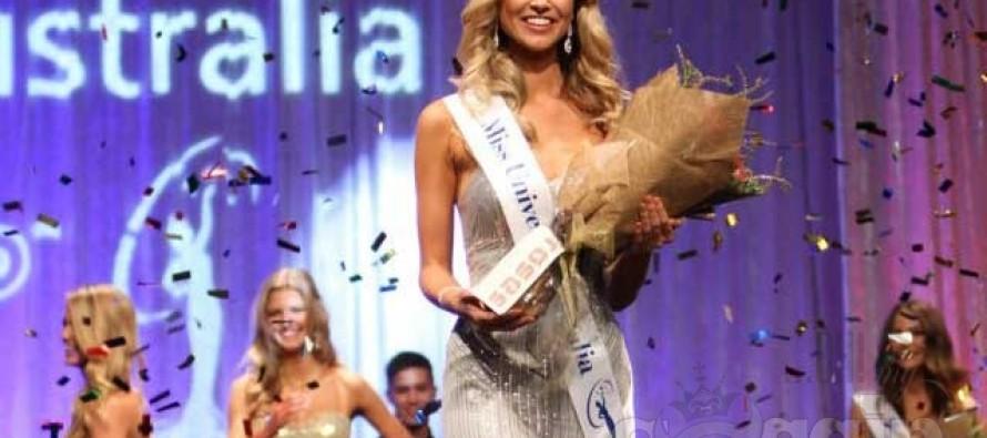 Miss Universe Australia 2012 Renae Ayris