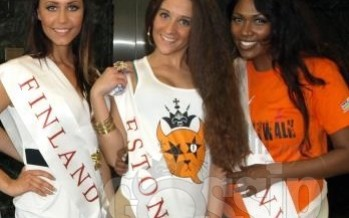 Miss Bride Of The World Estonia 2012 Doris Daniel is Ohmygossip Couture representative in China