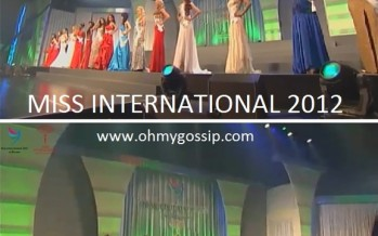 Miss International 2012 – Winners + TOP15 finalists + Special awards