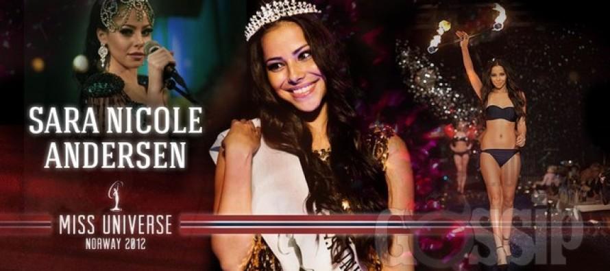 Miss Universe Norway 2012: Sara Nicole Andersen fra Oslo