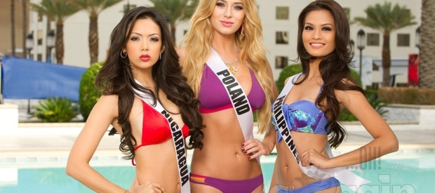 Miss Universe 2012: Registration and Fittings (vol3)