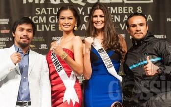 Miss Universe 2012: Manny Pacquiao vs Juan Manuel Marquez  (fighters final Press Conference)