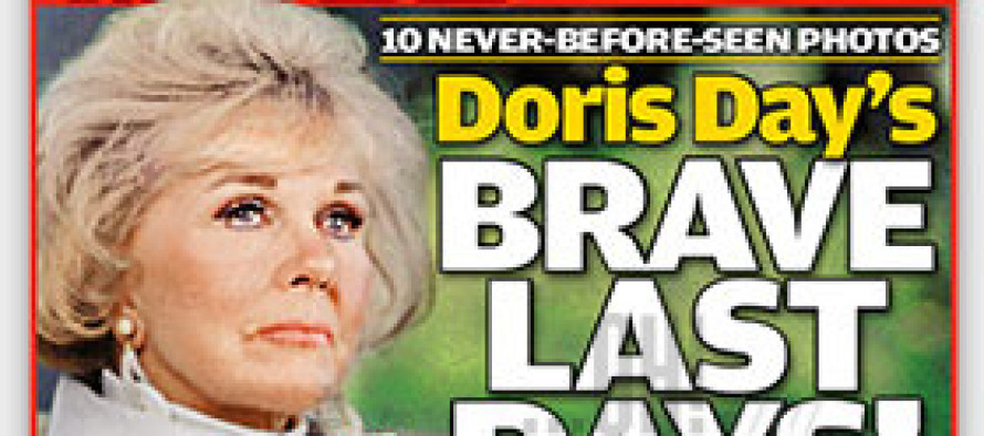 Doris Day is dying?