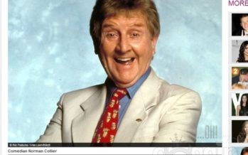 Comedian Norman Collier dies, aged 87