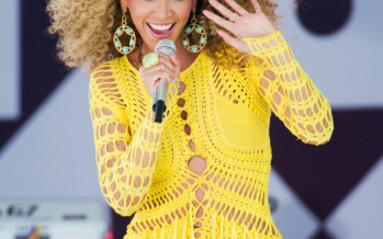 Beyonce films in bomb shelter