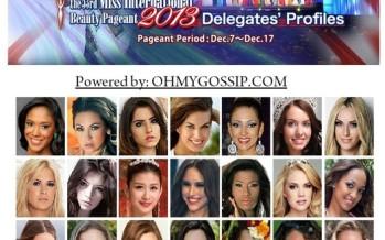 Miss International 2013 in Japan
