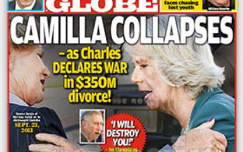 Prince Charles vows to destry Camilla Parker Bowles