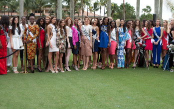 Miss Universe 2013: Registration and Fittings (Vol3)
