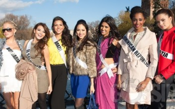 Miss Universe 2013: Filming at the Novodevichy Convent