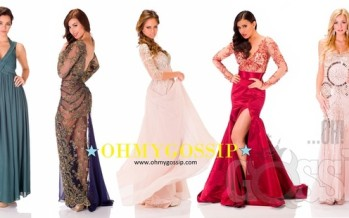 Miss Universe 2013: Contestants pose in their evening gowns at Crocus City Hall (Vol3)