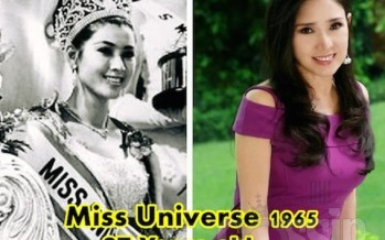 SCARY! Thailand's Miss Universe hasn't aged a day in the past 50 Years!