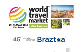 WTM Latin America 2016 and the 45th Braztoa Business Event
