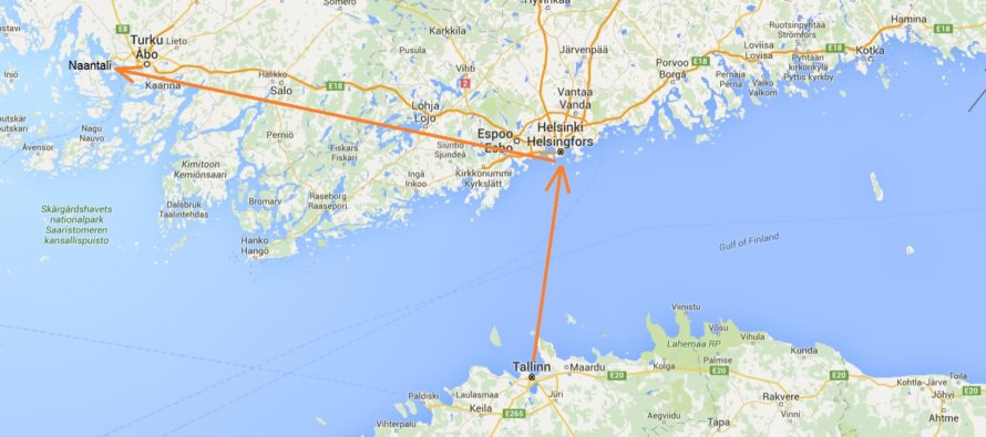 Helena-Reet: Soon off to short vacation with family to Finland! Here are the three reasons why we decided for Naantali