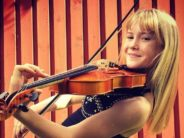 Exclusive! 11-year-old violinist Estella Elisheva acknowledges Estonian theatres