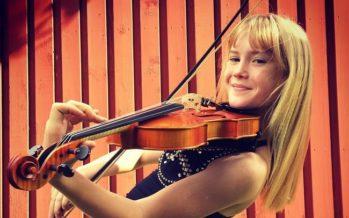 Exclusive! 11-year-old violinist Estella Elisheva acknowledges Estonian theatres