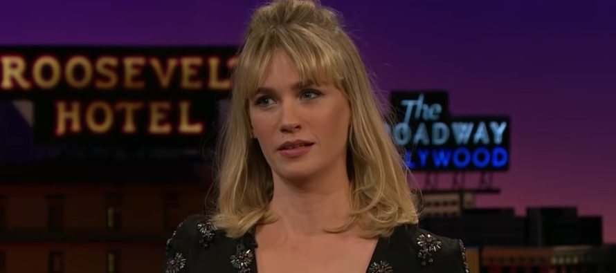 January Jones is obsessed with The Bachelor Nick Viall .. but is definitely not dating