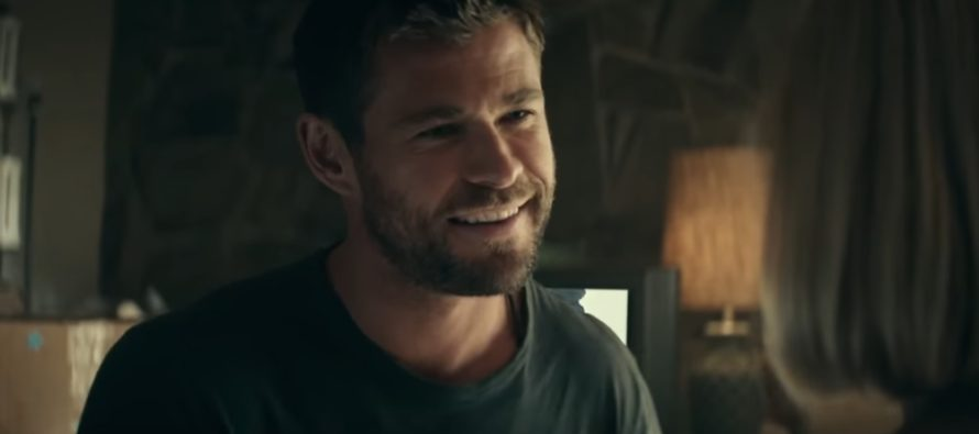 Chris Hemsworth singed his eyebrows during filming 12 Strong