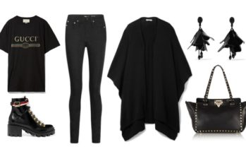 LUXURY shopping – Casual wear – everything black! (Look #5)