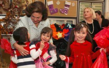 Crown Princess Katherine of Serbia donates money to restore Egyptian monastery