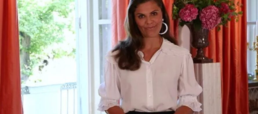 Crown Princess Victoria of Sweden opens Stockholm Fashion Week 2020 + VIDEO!