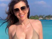 Elizabeth Hurley's 'speedy skincare' routines