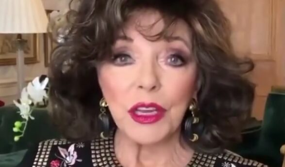 Joan Collins: Fifth marriage was never in my plans